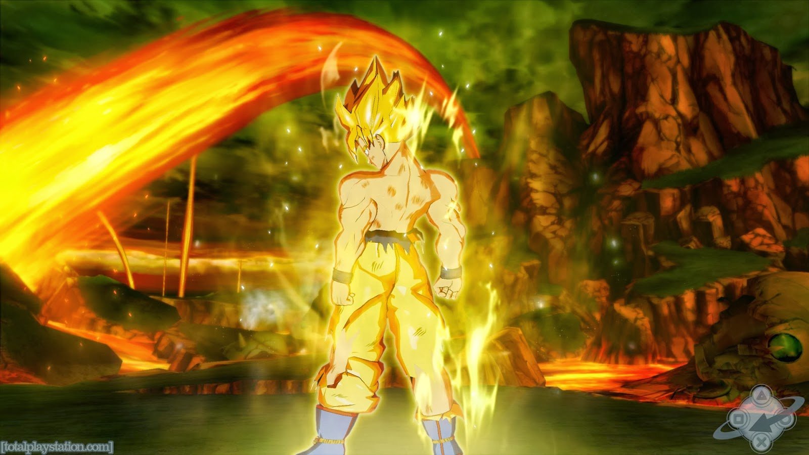 Hình nền Dragon Ball, Songoku full HD cho máy tính