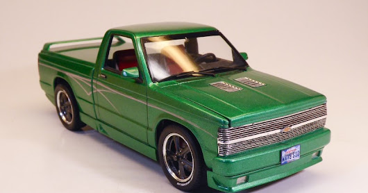 `94 Chevy S-10 Custom | Monogram | 1/25