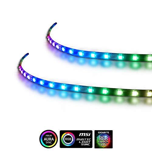 Extended Computer Magnetic LED Strip - 2PCS RGB LED Strip