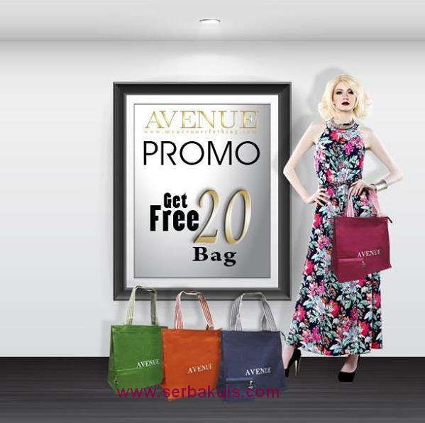 Kuis Promote Berhadiah 20 Bag Cantik dari Avenue Clothes