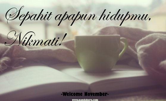gambar welcome november kata bijak motivasi
