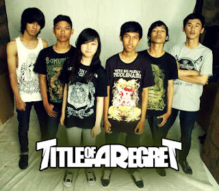 Title Of A Regert (TOAR) Band Post Hardcore / Screamo Bekasi With Female Vocal Gambar Foto Logo Artwork Wallpaper