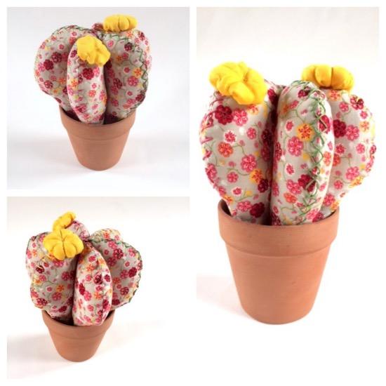 maguiandmi costura diy facil cactus tela handmade sewing