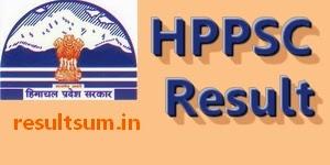 HPPSC Naib Tehsildar Result 2014