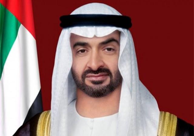 الشيخ محمد بن زايد آل نهيان ولى عهد أبو ظبى
