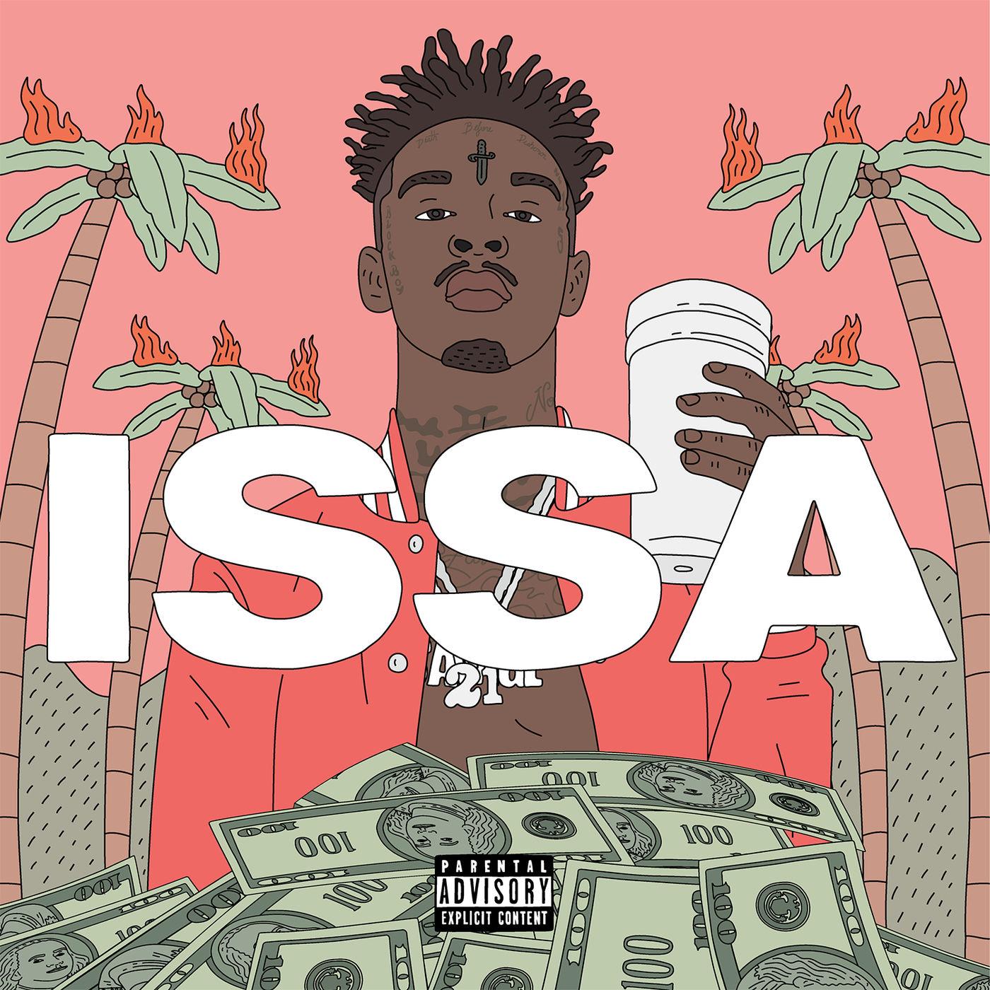 21 Savage - Issa Album Cover