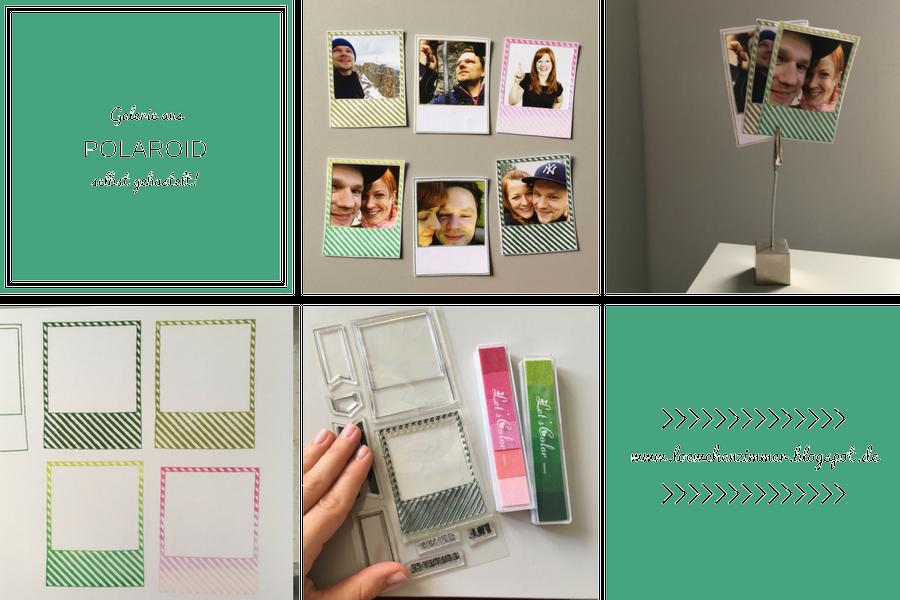 Im Test: Fotogalerie selbst gebastelt mit Stempeln und Stempelkissen von aliexpress