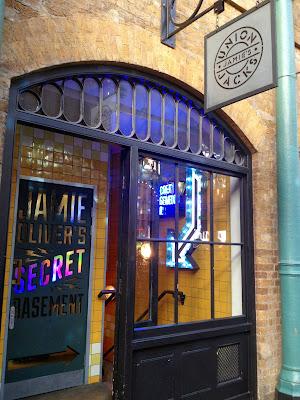Jamie's Oliver Secret Basement - Covent Garden - London - El troblogdita - El gastrónomo - Canal Cocina