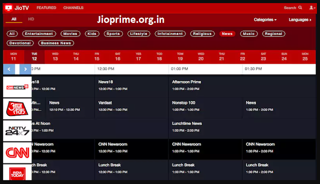 Reliance Jio Launches JioTV Web Version