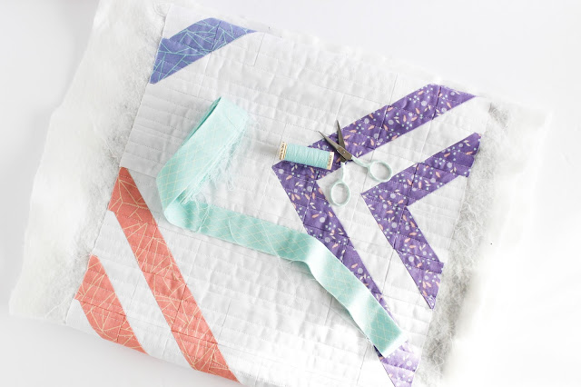 Kaleidoscope Peaks & Valleys Table Runner Shannon Fraser Designs