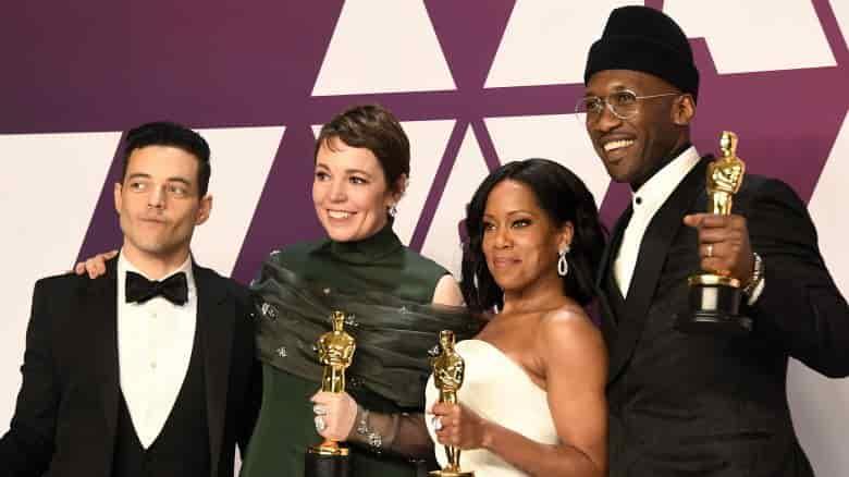 Lady Gaga helped Rami Malek avoid Oscars 2019 wardrobe malfunction