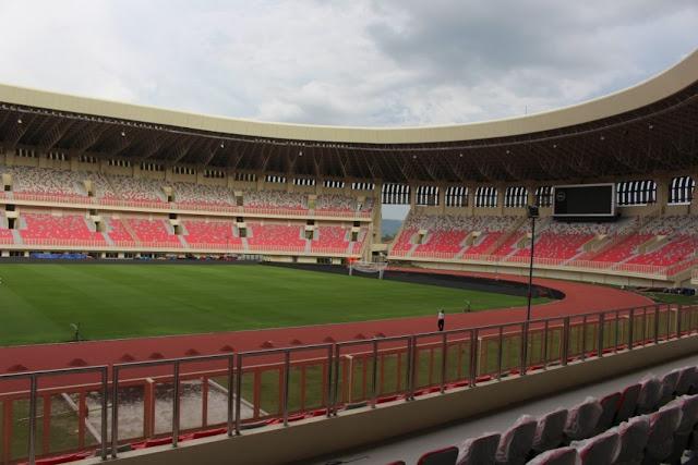 Stadion Papua Bangkit Belum Bisa Dipakai