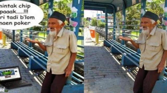 Foto Kakek Yang Menengadahkan Tangan Dan Dijadikan Meme Ini Ternyata Seorang Pejuang Kemerdekaan