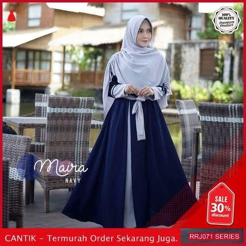 Jual RRJ071D209 Dress Muslim Maira Wanita Syari Plus Set BMGShop