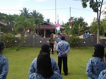 APEL PERDANA BERSAMA TNI POLRI DAN ASN DI KEPULAUAN NANUSA