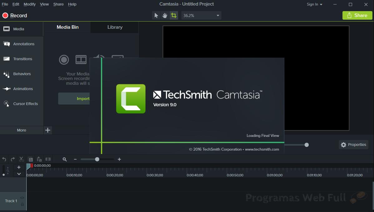 Camtasia Studio 9