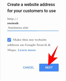 Google my business website/page create kaise kare 4