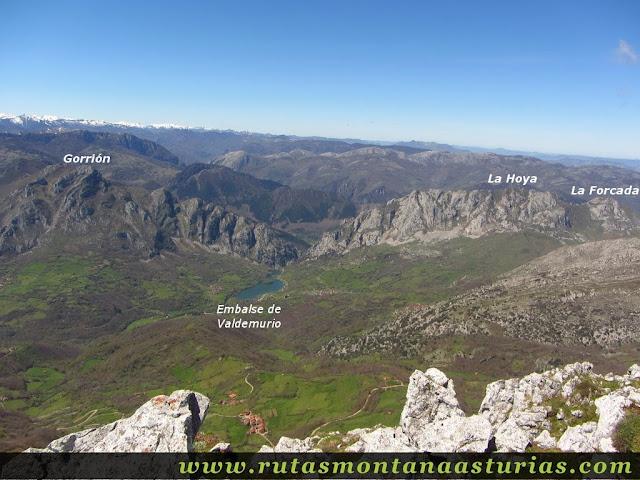 El Gorrión, Forcada y Hoya desde el Pelitrón