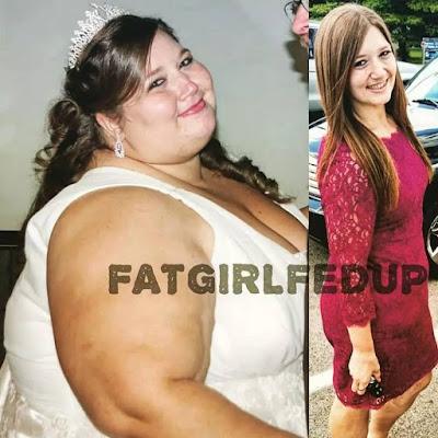 dulunya gemuk sekarang cantik