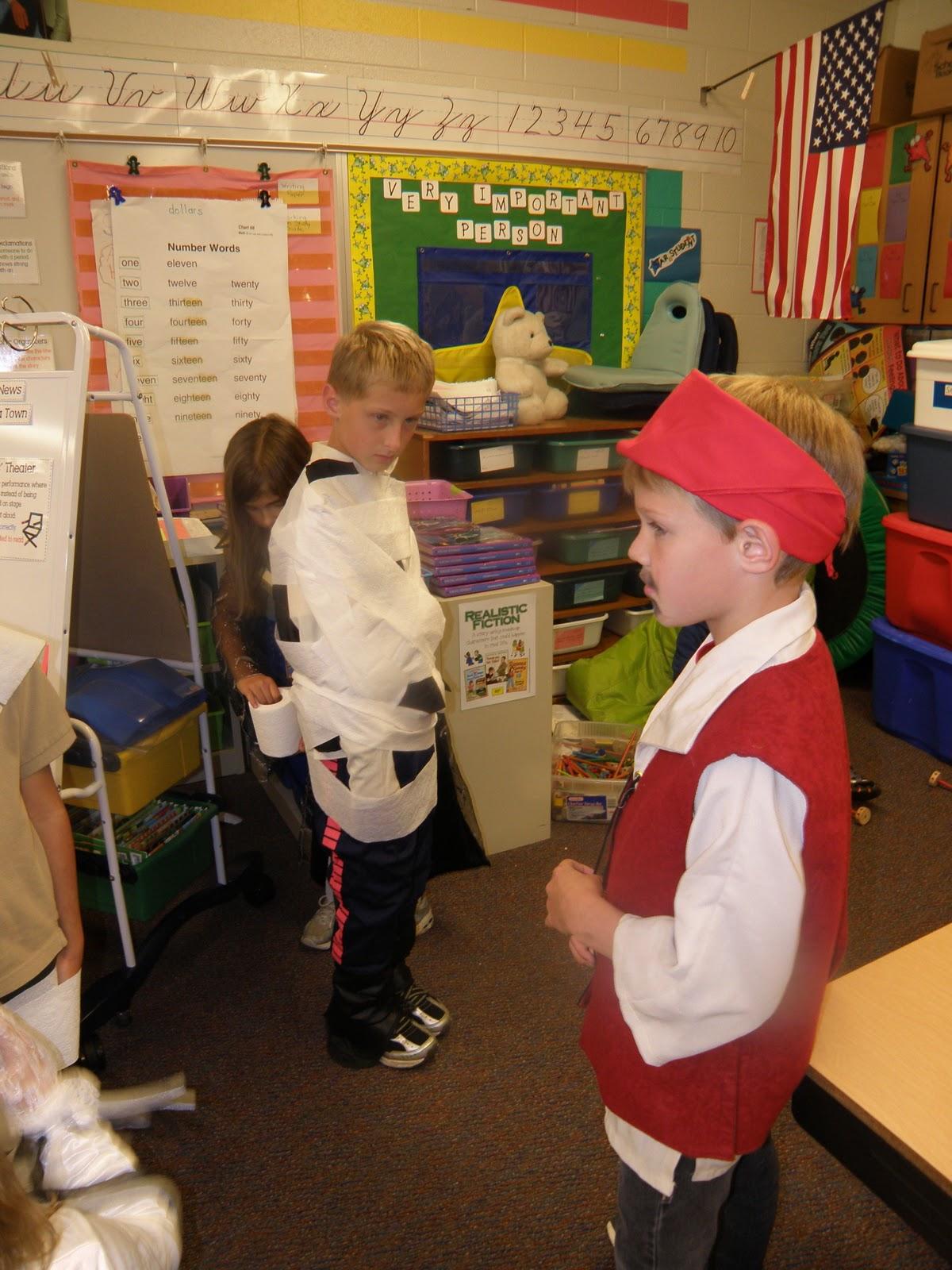 The Olsens Third Grade Class Halloween Party