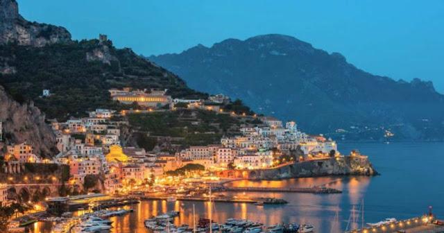 foto Costiera Amalfitana con buysardinia