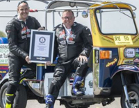 For Highest Speed Reached On A Tuk Tuk, Man Sets World Record