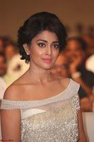 Shriya Saran in Stunning White Off Shoulder Gown at Nakshatram music launch ~  Exclusive (76).JPG