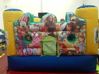 infalbles para niño cumpleaños
