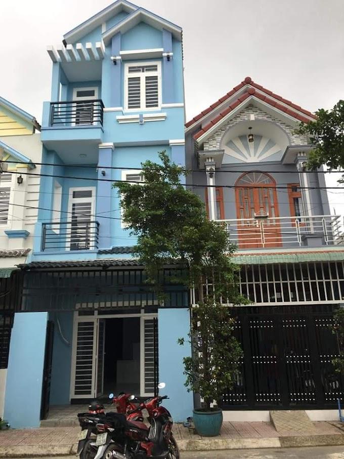 Cần bán nhà 2 lầu 1 trệt ở An Phú, Thuận An, Bình Dương.