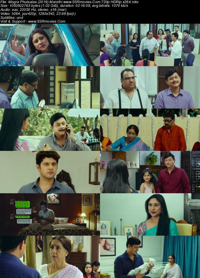 Mogra Phulaalaa (2019) Marathi 720p HDRip x264 1GB Movie Download