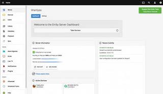 Membangun Layanan Streaming Pribadi Menggunakan Emby
