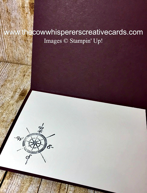 Card, Masculine, Wherever You Go, Post Script