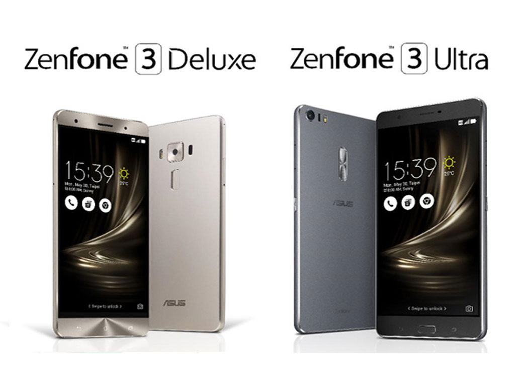 Zenfone 3 Deluxe and Zenfone 3 Ultra