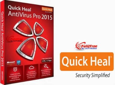 Quick Heal Antivirus Pro 2015 with Crack