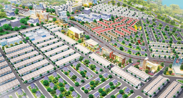 Dự án Ben Cat Center City 2 Kim Oanh Bình Dương