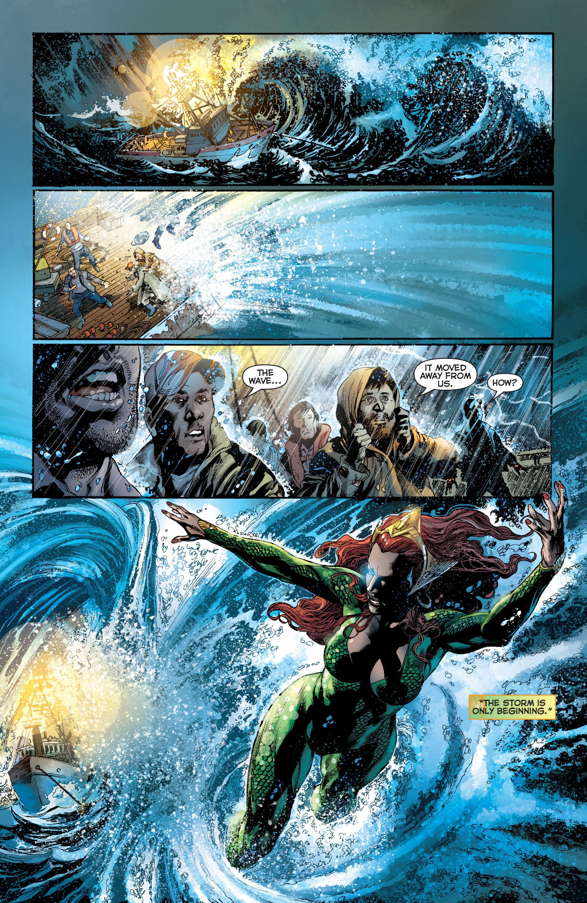 Read online Aquaman (2011) comic -  Issue #7 - 13