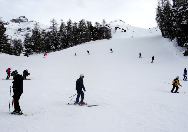 First Day of Skiing in Val Cenis (French Alps)