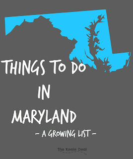Even with all the fun places we have been there are still a lot more for us to go explore. This is a growing list of places to see and things to do in Maryland.