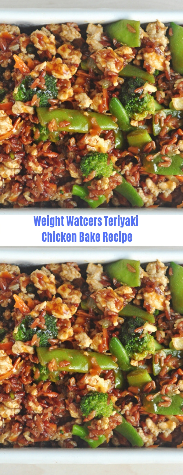 Weight Watchers Teriyaki Chicken Bake Recipe