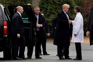 White House doctor says Trump's health condition is 'excellent'