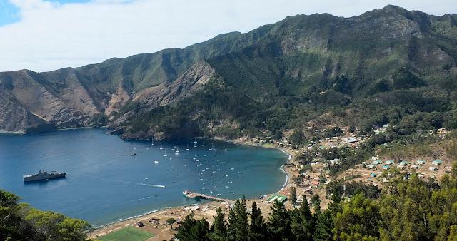 Ilhas Juan Fernández no Chile