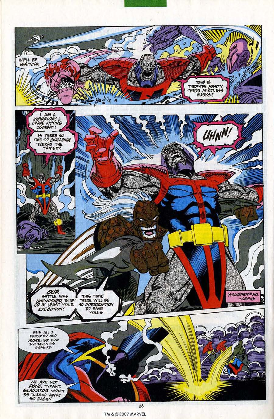 Read online Silver Surfer (1987) comic -  Issue #82 - 30