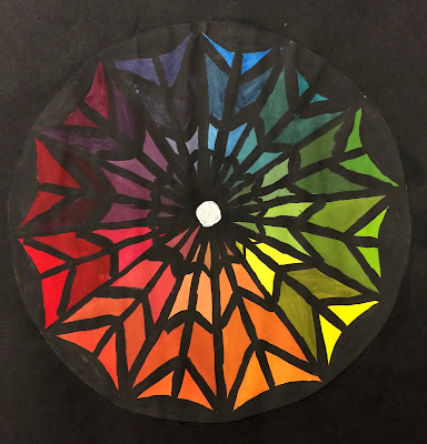 I Wanted To Do Something Different Than A Typical Color Wheel And Really Give The Students Practice With Paint Mixing Colors Help Prepare