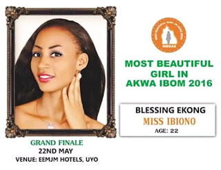 The Cry of Unfulfilled Promise of 2016 Most Beautiful Girl In Akwa Ibom for their Stress and Energy