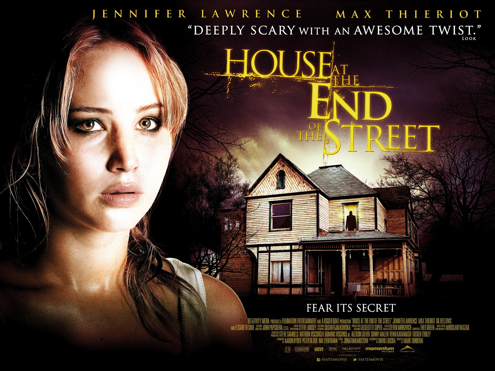 House at the end of the street Film Clip : Teaser Trailer
