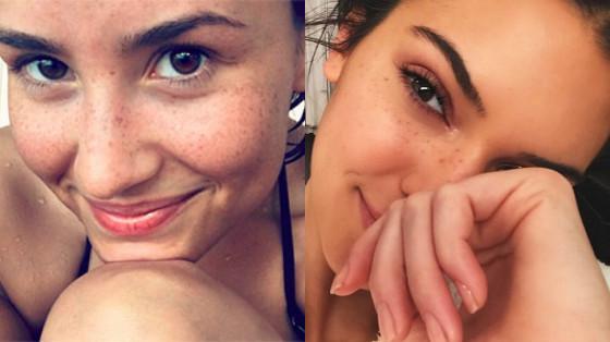 sardas de maquiagem