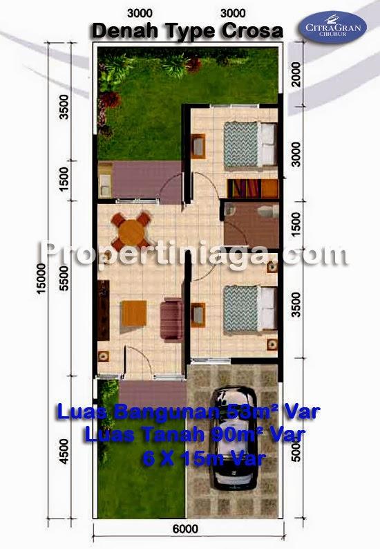 Denah-Rumah-cluster-type-crosa