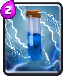 Carta Raio de Clash Royale - Wiki da Carta