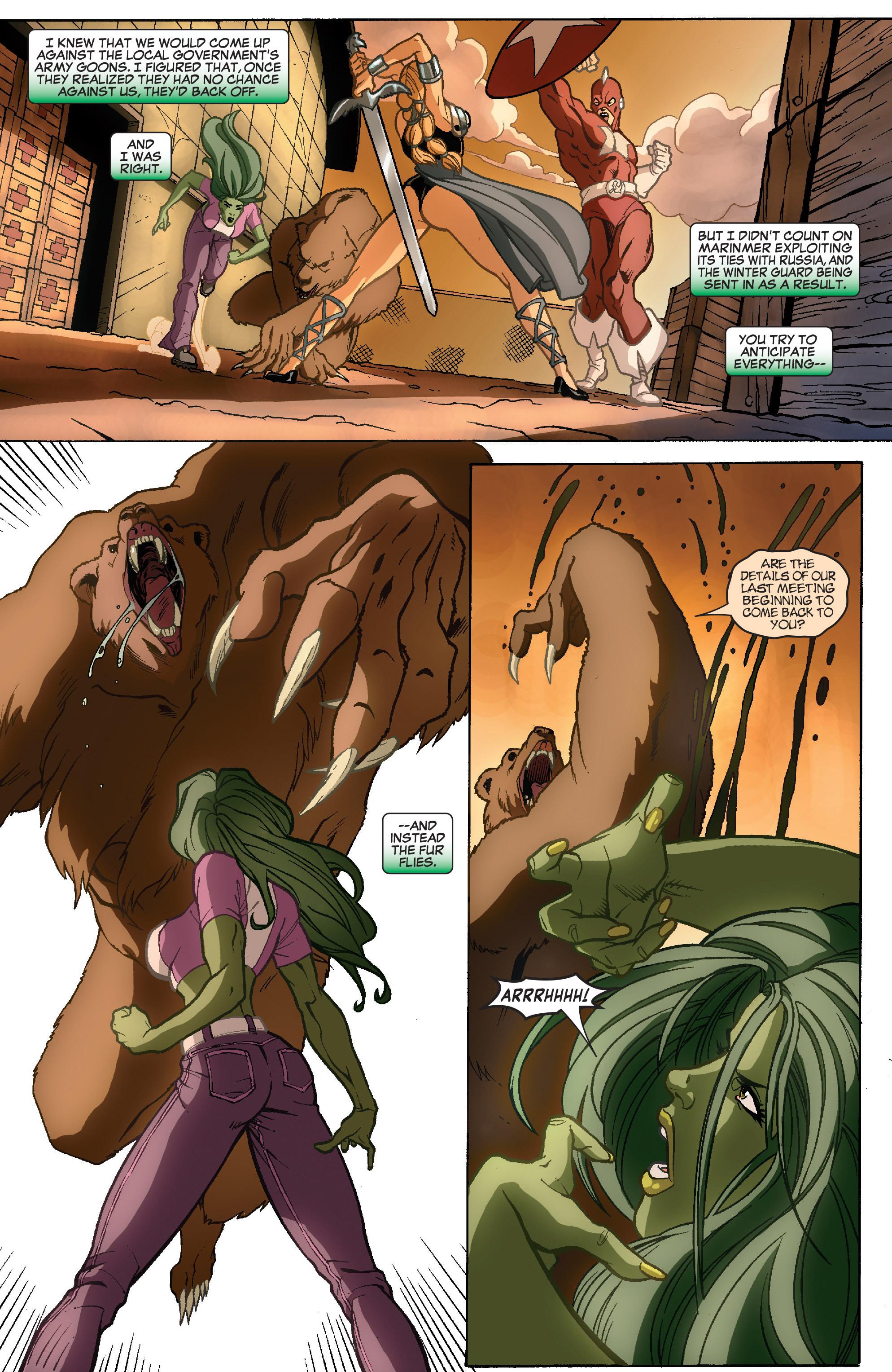Read online She-Hulk (2005) comic -  Issue #35 - 8