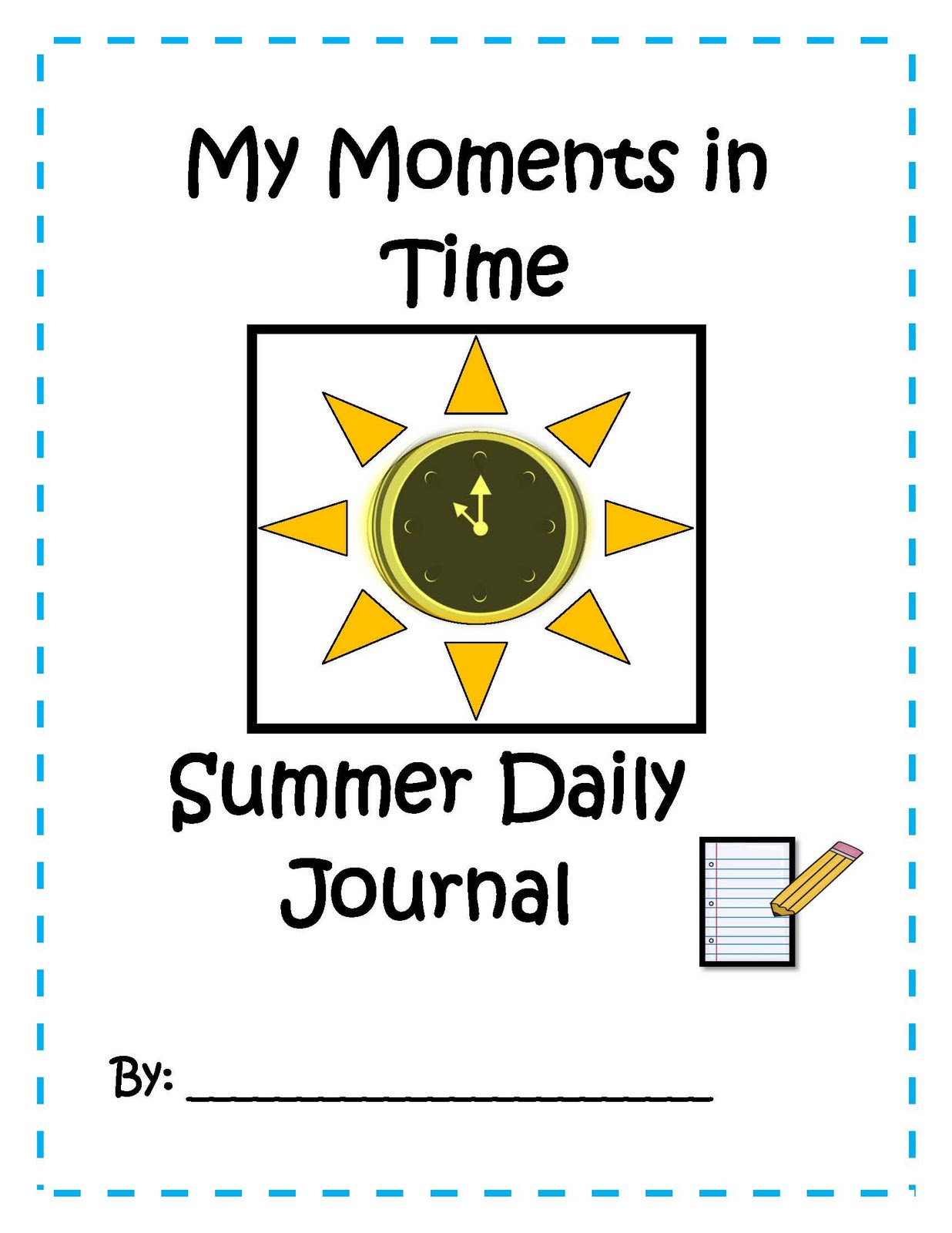 Engaging Lessons And Activities Kid S Summer Daily Journal